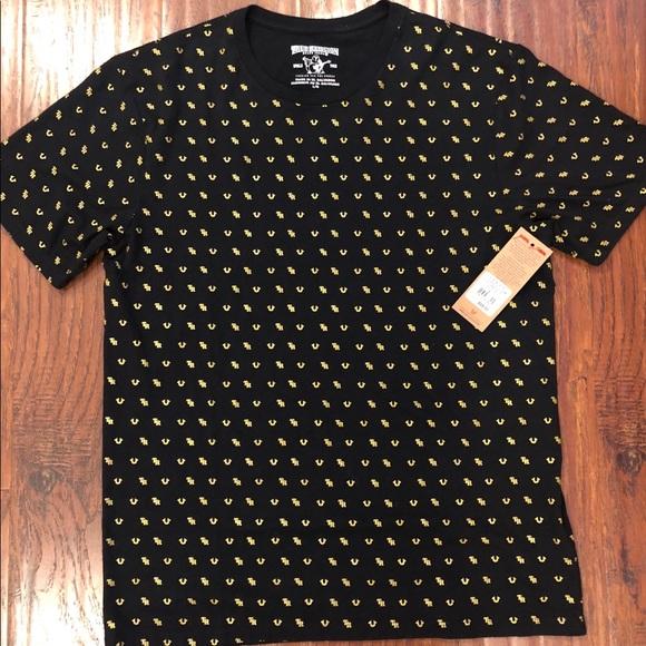 a60d59d1 True Religion Shirts | 6900 Brand Mens Monogram Tshirt | Poshmark